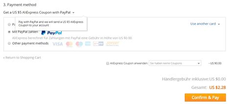 aliexpress use paypal aliexpress jetzt auch mit paypal 5 gutschein f 252 r neukunden