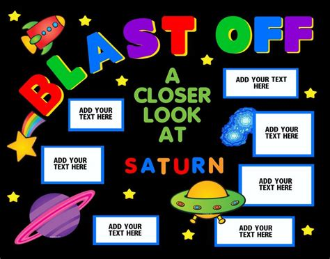 planet saturn project ideas make a science fair project poster ideas saturn