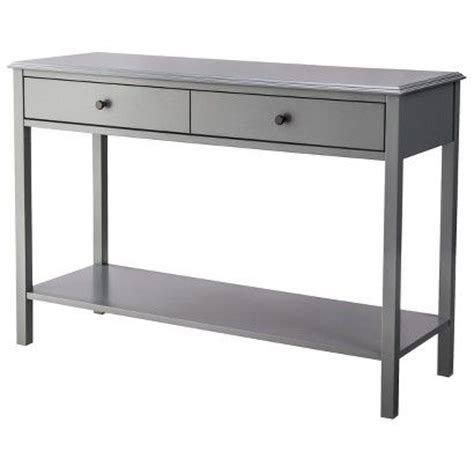 Front Entry Table Threshold Windham Console Table I Think This Grey Would Be Better Suited For My Living Room Or