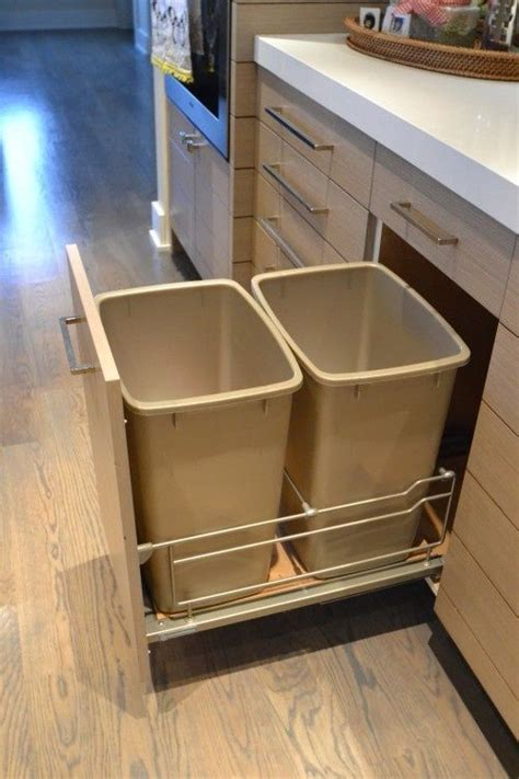 ikea kitchen fold out trash   Google Search   Kitchen