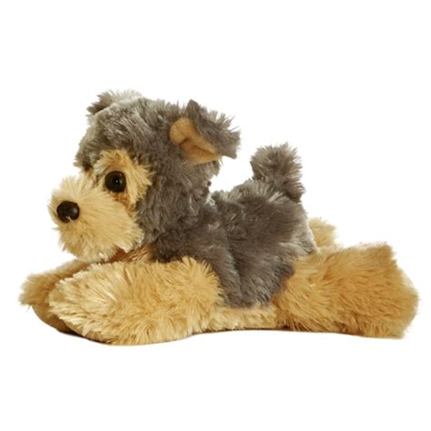 stuffed yorkie cutie the stuffed yorkie plush mini flopsie by