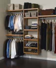 closet storage simple wall mounted wooden shelving