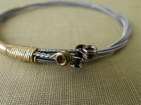 guitar string bracelet stackable guitar string bangle guita aftcra