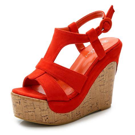 shoes sandals platform high heels wedges sandals