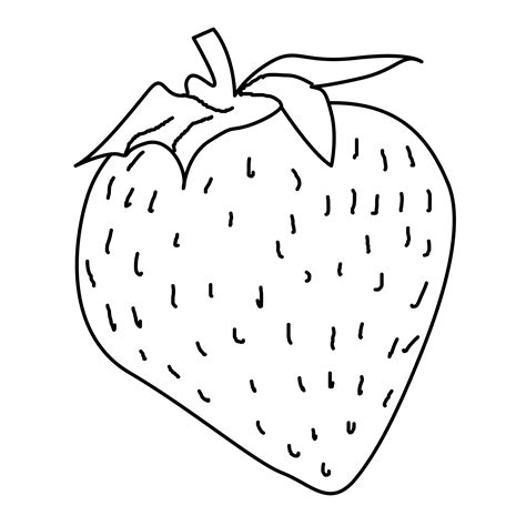 Coloring Pages Eat And Drink Free Downloads Strawberry Coloring Page