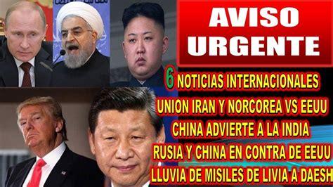 218 ltimas noticias de entretengo noticias de ultimo en la uocra 6 noticias internacionales de ultimo momento iran eeuu