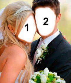 casadas para hacer el fotomontaje marido y mujer reci 233 n casados en su boda