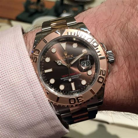 Rolex Classical Combi Black Gold on with the rolex yacht master 116621