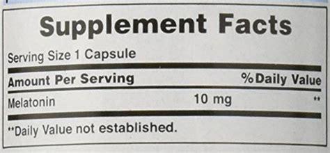 Puritan Strength Melatonin 10 Mg 60 Cap Tidur Le Berkualitas