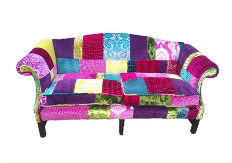 Patchwork Furniture Uk - patchwork sofa designers guild fabric eclectic sofas