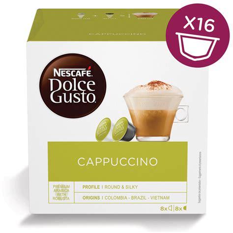 Dolce Gusto Cappuccino By Ancha cappuccino 16 capsules nescaf 201 174 dolce gusto 174