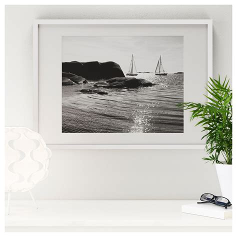 Landscape Pictures Ikea Ribba Frame White 30x40 Cm Ikea