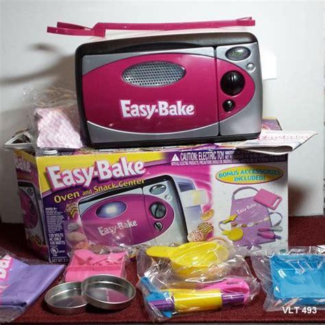 hasbro easy bake oven snack center  rare bonus items
