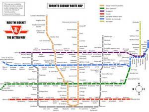 Toronto Metro Map by Similiar Toronto Subway System Keywords