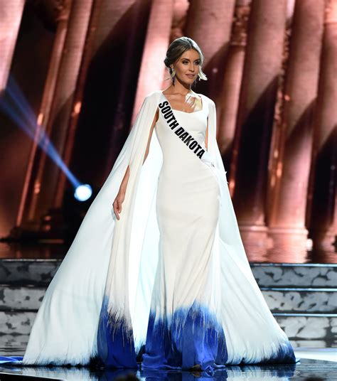 Top Five Sashed Dresses by Sashes And Tiaras Miss Usa 2016 Preliminaries Evening