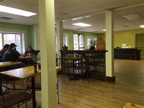 fairly small dining area picture of screen door cafe