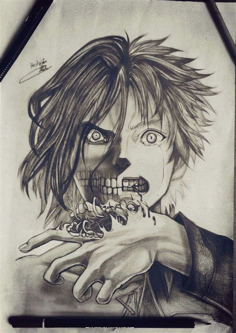 attack on titan tattoo 738 best drawings paintings images on