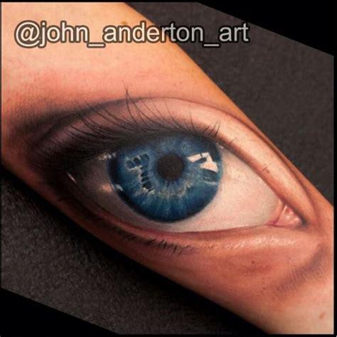 eyeball tattoo realistic realistic eye tattoo by nemesis tattoo
