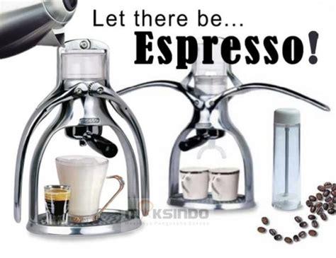 Alat Pembuat Kopi Handpresso Portafilter 3 jual pembuat kopi manual rok presso di bandung toko mesin maksindo bandung toko mesin