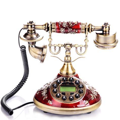 wholesale unique home decor classic designer corded phone home decor unique landline
