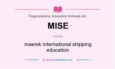 Mba Maersk International Shipping Education mise maersk international shipping education in