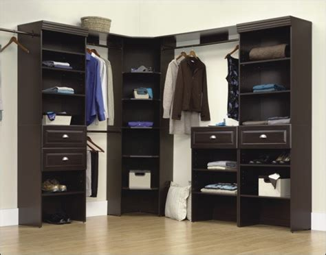 Sauder Closet Organizer by Sauder Closet Corner Unit Ideas Advices For Closet