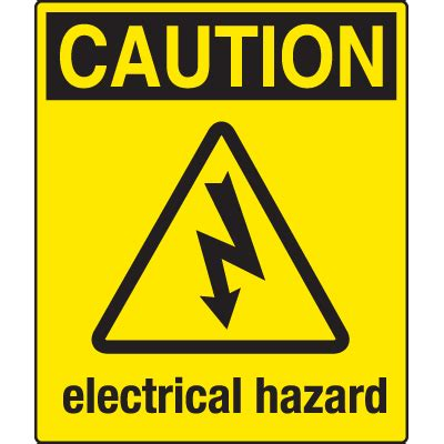 universal graphic signs and labels caution | seton