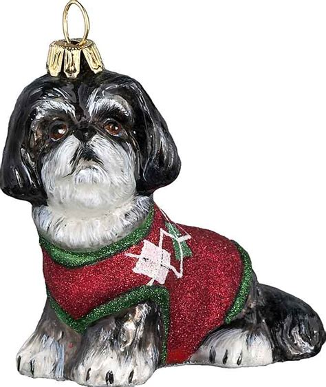 shih tzu sweater shih tzu w green sweater