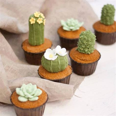 Home Made Halloween Decoration Ideas how to make succulent cupcakes food glorious food