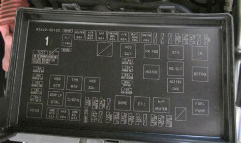 Toyota 4runner Fuse Box Diagram 113