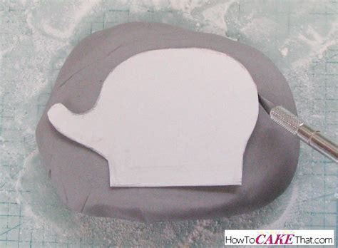 elephant cake template elephant and balloon fondant topper how to cake that