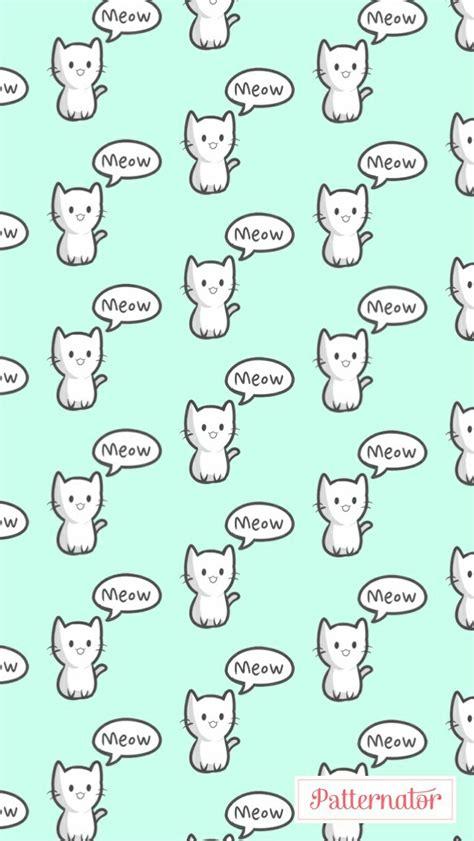 patternator for pc patternator pc patternator meow gatinho fofo wllp papel de