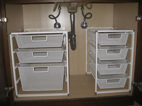 under sink bathroom organizer under the sink organization pleia2 s blog