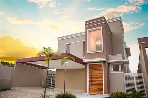 lustre casa fachada casa moderna populares fachadas casas