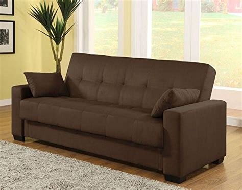 sofa lounger with storage pearington mia microfiber sofa sleeper bed lounger with