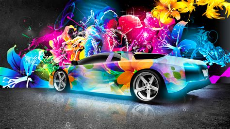 colorful car wallpaper lamborghini murcielago super abstract car wallpapers