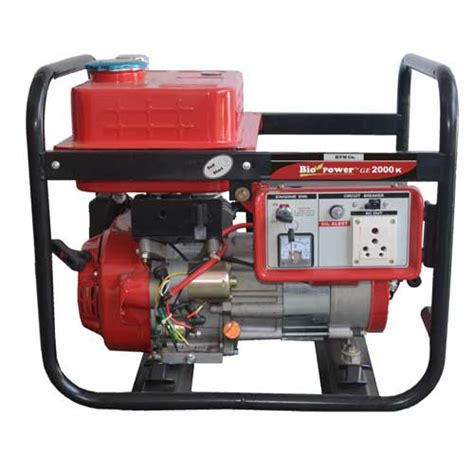 ge 2000 k portable generator in india by hpm