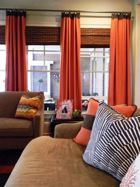 orange curtains for living room orange curtains living room curtain menzilperde net