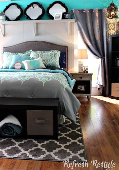gray and teal bedroom ideas 2270 best teal decor images on pinterest color