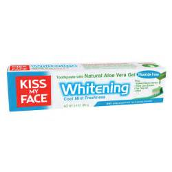 Toothpaste Whitening by All Natural Whitening Toothpaste From Kiss My Face