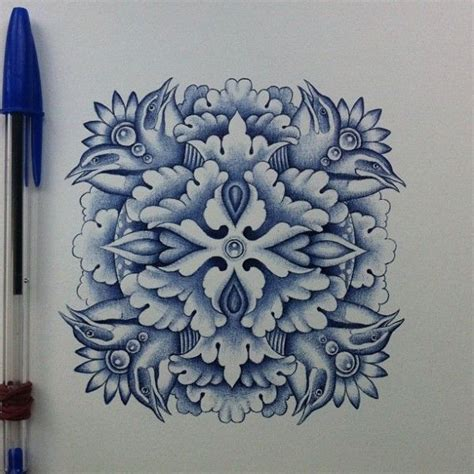 tattoo with bic pen 1000 images about ballpoint pen art on pinterest flower