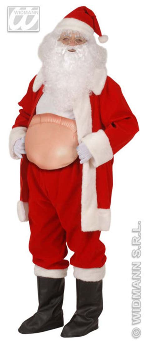 inflatable santa belly  accessories  xmas