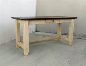 desk writing table reclaimed wood office desk rustic
