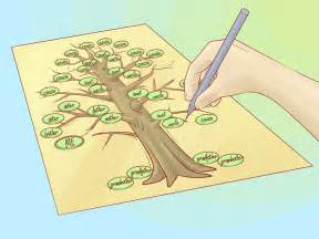 draw a family tree template how to draw a family tree 10 steps with pictures wikihow