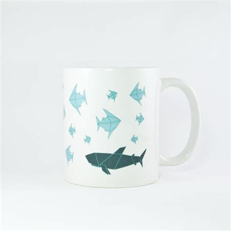Origami Mug - origami marine 2 mug origamy collection