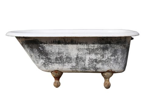 Antique Bathtub Vintage Bathtub Antique White Enameled Steel Bathtub