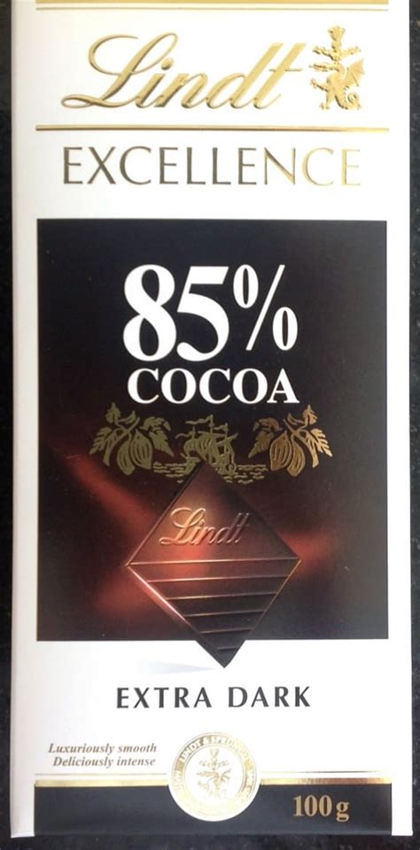 lindt 85 carbohydrates how to read food labels for low carb diet