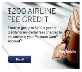 Amex Platinum Airline Credit Gift Card - 2014 amex platinum airline credit posted 200 in southwest gift cards michael w