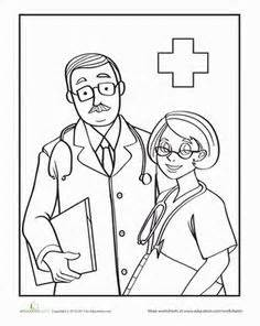 coloring pages nurses and doctors 1000 images about duplo class hospital on pinterest