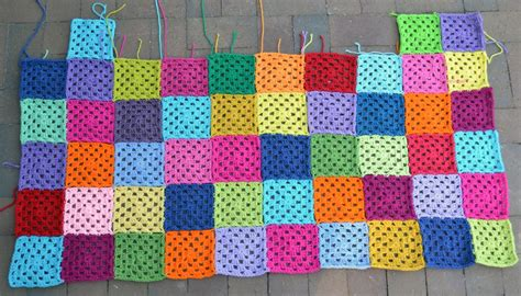 Crochet Patchwork - crochet in color back to the ol patchwork